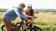 6 10 16 Bicycling Couple