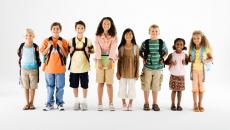 78778568 Kids With Backpacks