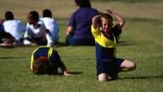 Thinkstockphotos 99260830 Child Injured During Soccer Game