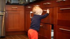 Toddler Opening Drawers