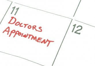 454185429 Doctors Appointment On Calendar