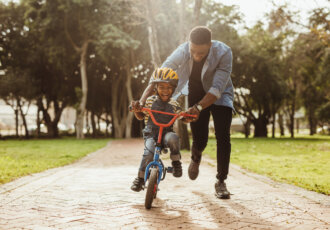 Child on Bicycle