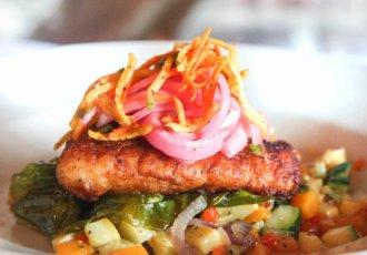 Copy of Sweet Potato Snapper by Cafe Vermillionville 2 photo credit Emily Eickhoff blog
