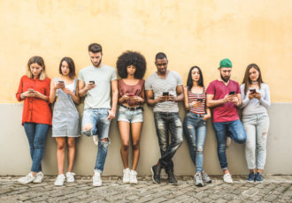 Getty Images 1092747784 Millennials on Phones