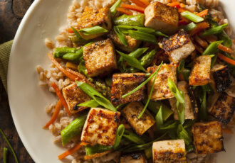 Meatless Recipe Tofu Stir Fry