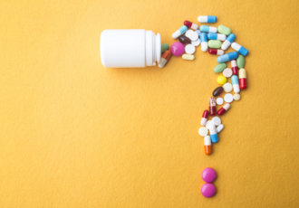 Pills in a Question Mark