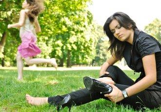 Thinkstockphotos 153716850 Woman With Heel Pain