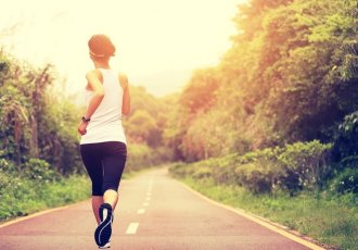 Thinkstockphotos 475360834 Woman Running On Path