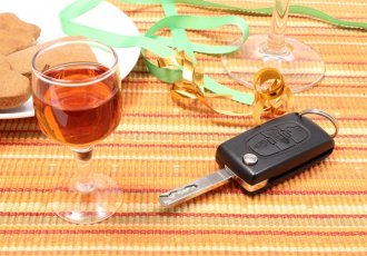 Thinkstockphotos 530320359 Car Key With Glass Of Wine On Table After Party