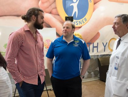 Thomas Morstead teams up with TOKC to support Ochsner Hospital for Children.