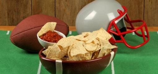 Figure-Friendly Football Food