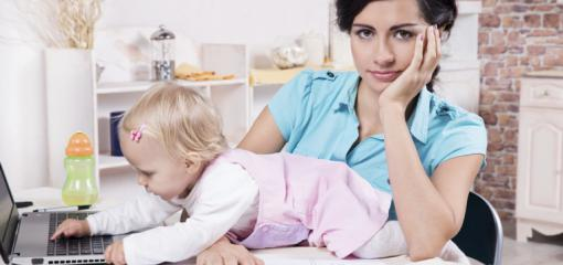 Up All Night at the Breast Milk Buffet: A Working Mom's Guide to Survival