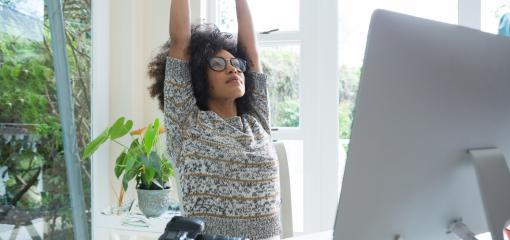 Get Fit At Your Desk: Stretches, Exercises and Tips to Stay Active at Work