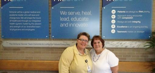 Mother and Daughter Ochsner Employees Honored Among Top 100 Nurses of Louisiana