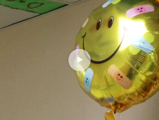 Volunteers Spark Joy with Surprise Balloons