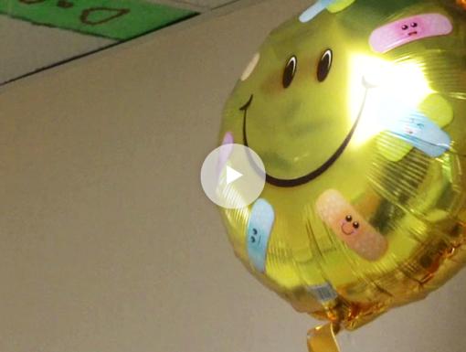 Ochsner Volunteers Spark Joy with Surprise Balloons (Video)