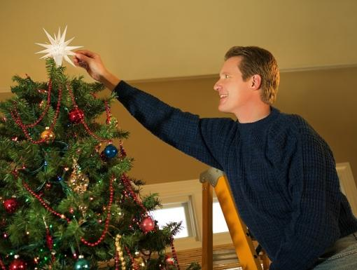 Don't Let Holiday Decorating Become a Medical Emergency