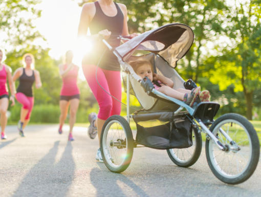 5 Tips for Running with a Stroller