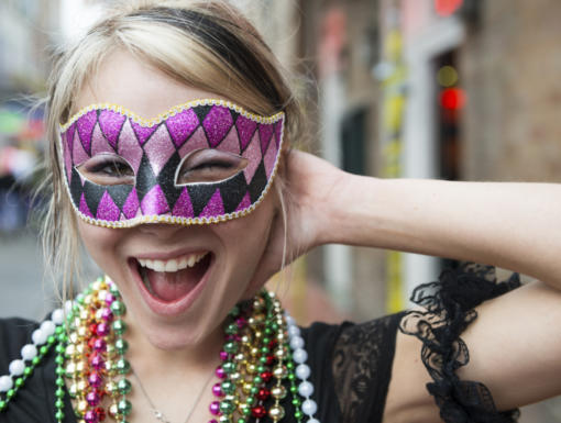 Eye Safety & Mardi Gras