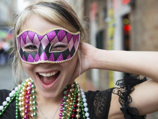 Eye Safety & Mardi Gras