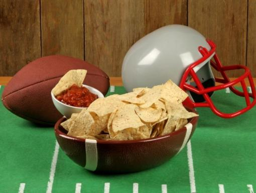 Figure-Friendly Football Food