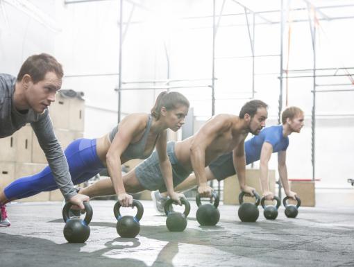 The Kettlebell Workout