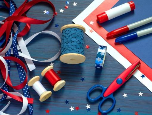 Toddler Approved Crafts for the 4th of July