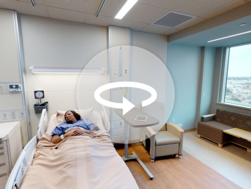 3D Virtual Tour: Optimal Hospital at Ochsner