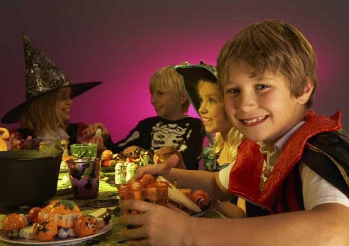 125556061 Children At Halloween Party