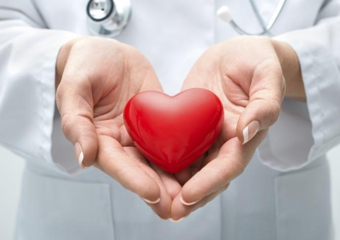 454983761 Doctor Holding Heart