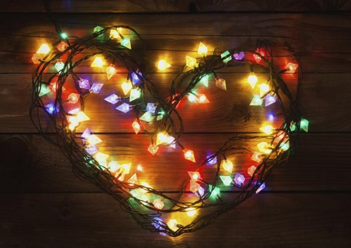 459513447 Heart In Christmas Lights