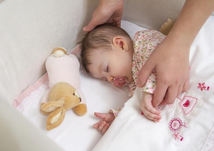 466488113 Baby In Crib