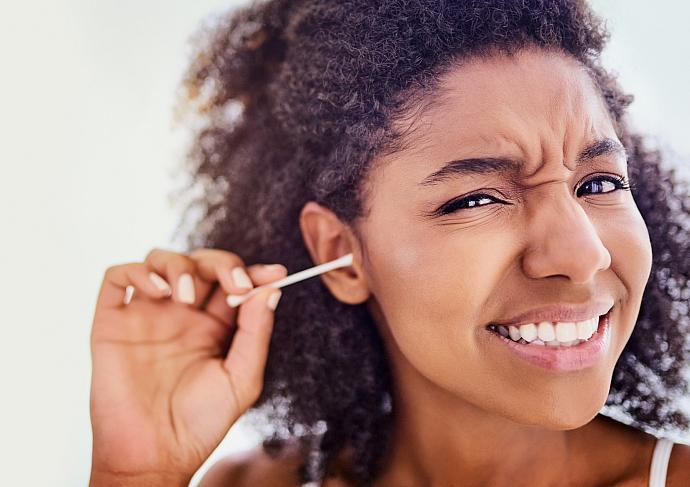 Ear Wax Q Tip