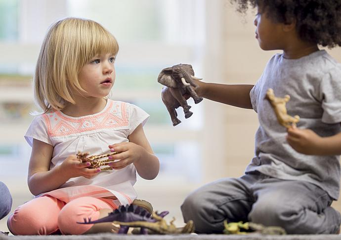 Gettyimages 507032862 Little Girl With Friend