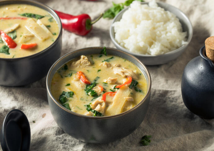 Healthy Costco Chicken Curry