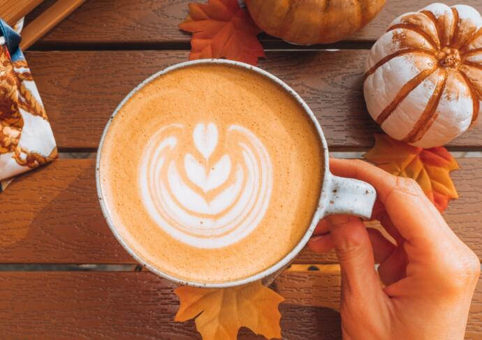 How to order a healthy pumpkin spice latte from Starbucks