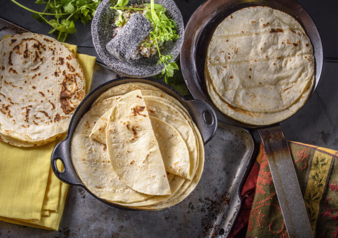 Low carb tortillas