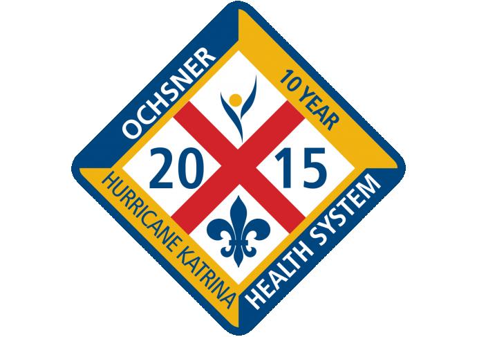 Ochsner 10 Year Pin Icon Color Final