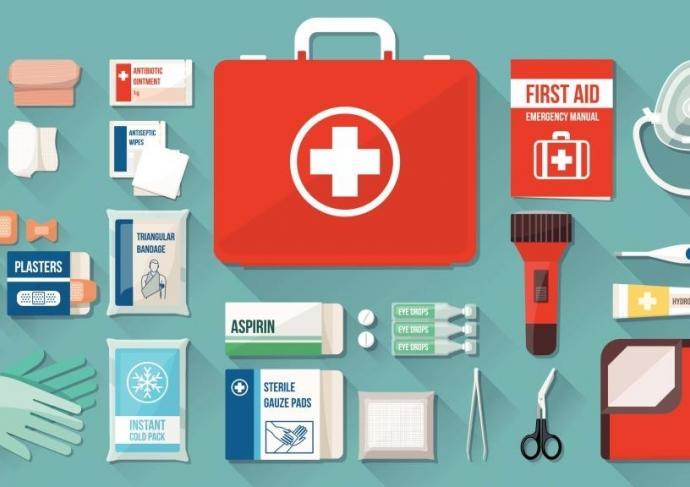 Disaster Kit Icons