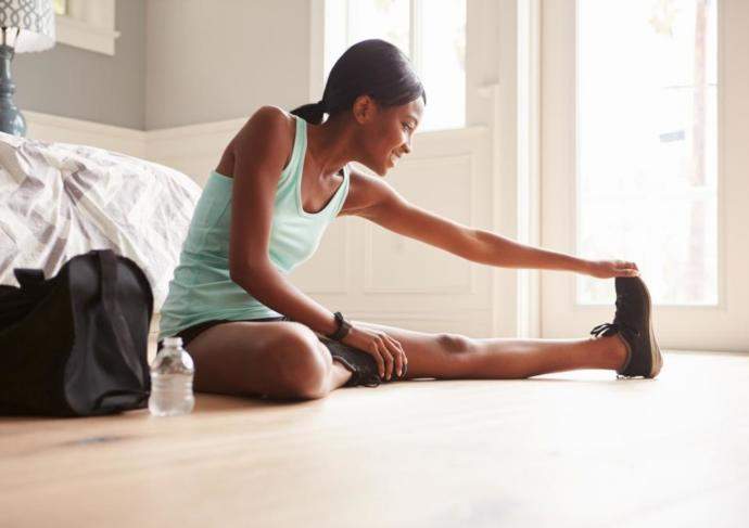 Thinkstockphotos 519320654 Woman Stretching Exercise Training