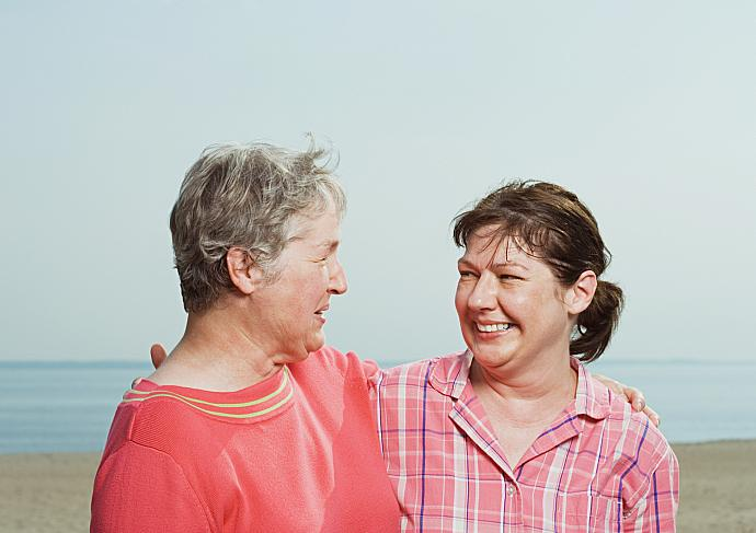 Thinkstockphotos 56973411 Two Women Breast Cancer