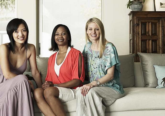 Thinkstockphotos 82172807 Women On Couch