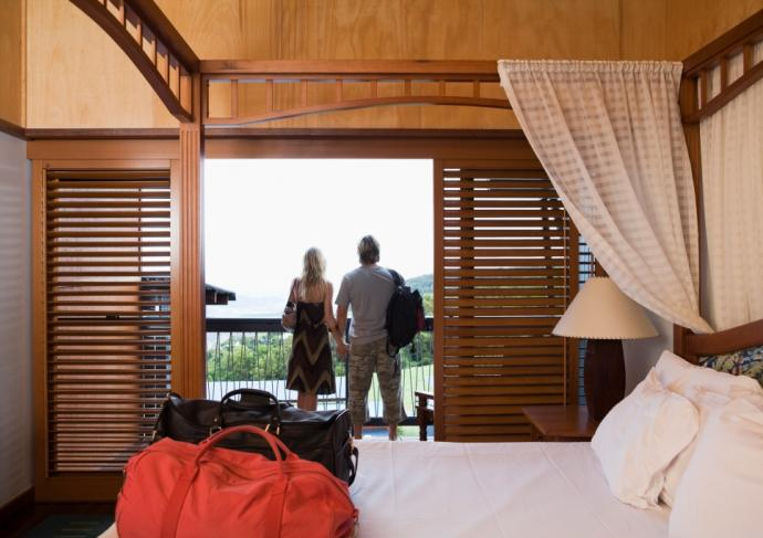 Thinkstockphotos 86488970 Hotel Room Exercise