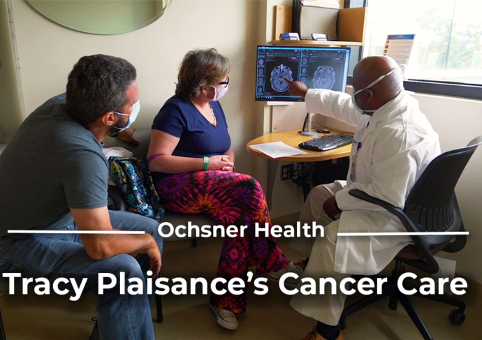 Title THUMB Cancer Care for Louisiana Tracy Plaisance s Story