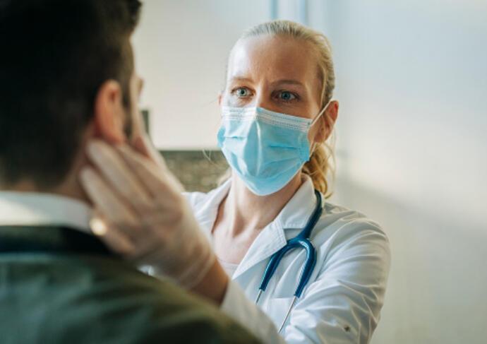 Doctor examining patient 2