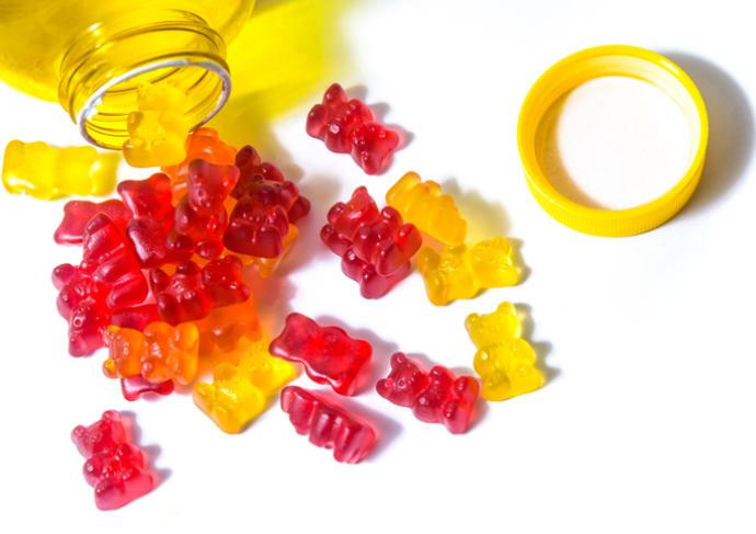 Gummy vitamin
