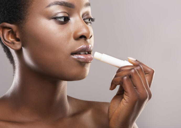 Lip balm dry lips
