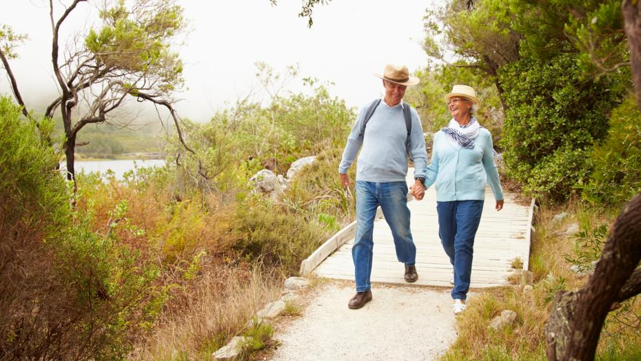 479288058 Older Couple Outdoors Summer