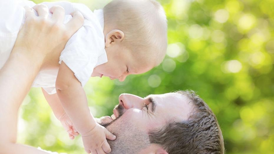 480502081 Father Holding Baby