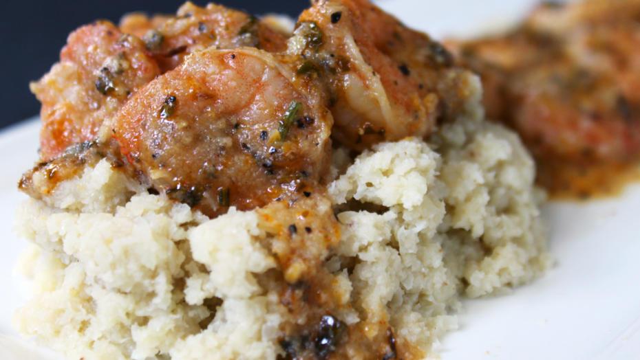 BBQ Shrimp Grits Amanda Arbeit